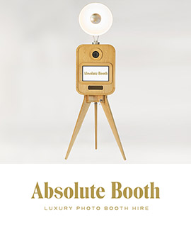 Photo Booth hire in London, Kent and Surrey with Absolute Booth