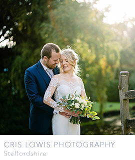 Cris Lowis Staffordshire wedding photographer
