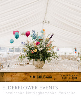 Rural wedding venues in Lincolnshire, Yorkshire and Nottinghamshire - Elderflower Events