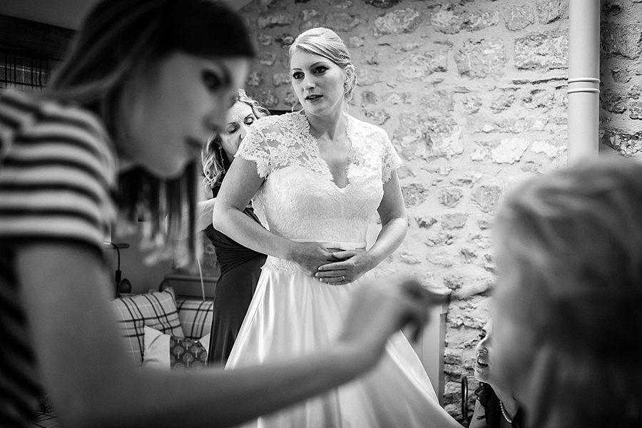 Sarah & Michael's coral and blue Mapperton House wedding, with Linus Moran Photography on the English Wedding Blog (5)