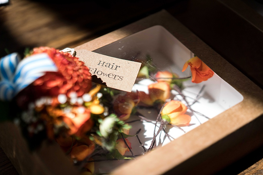 Sarah & Michael's coral and blue Mapperton House wedding, with Linus Moran Photography on the English Wedding Blog (6)