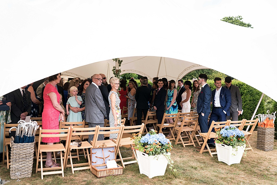 Sarah & Michael's coral and blue Mapperton House wedding, with Linus Moran Photography on the English Wedding Blog (16)