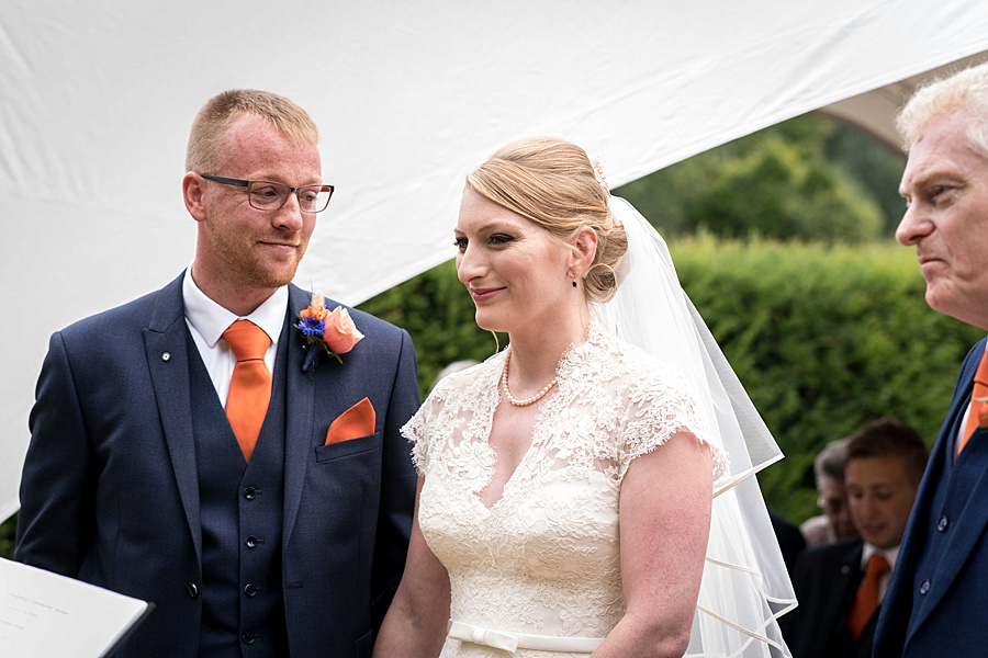 Sarah & Michael's coral and blue Mapperton House wedding, with Linus Moran Photography on the English Wedding Blog (17)