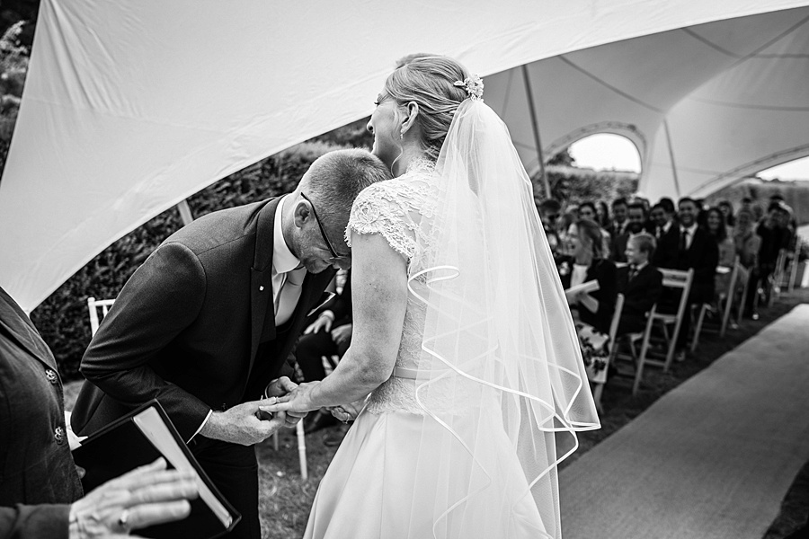 Sarah & Michael's coral and blue Mapperton House wedding, with Linus Moran Photography on the English Wedding Blog (22)