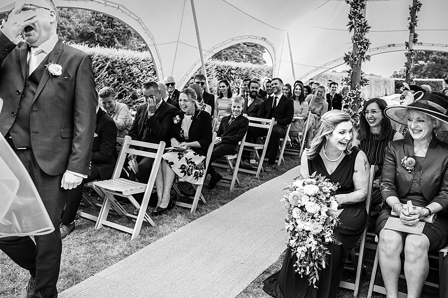 Sarah & Michael's coral and blue Mapperton House wedding, with Linus Moran Photography on the English Wedding Blog (24)