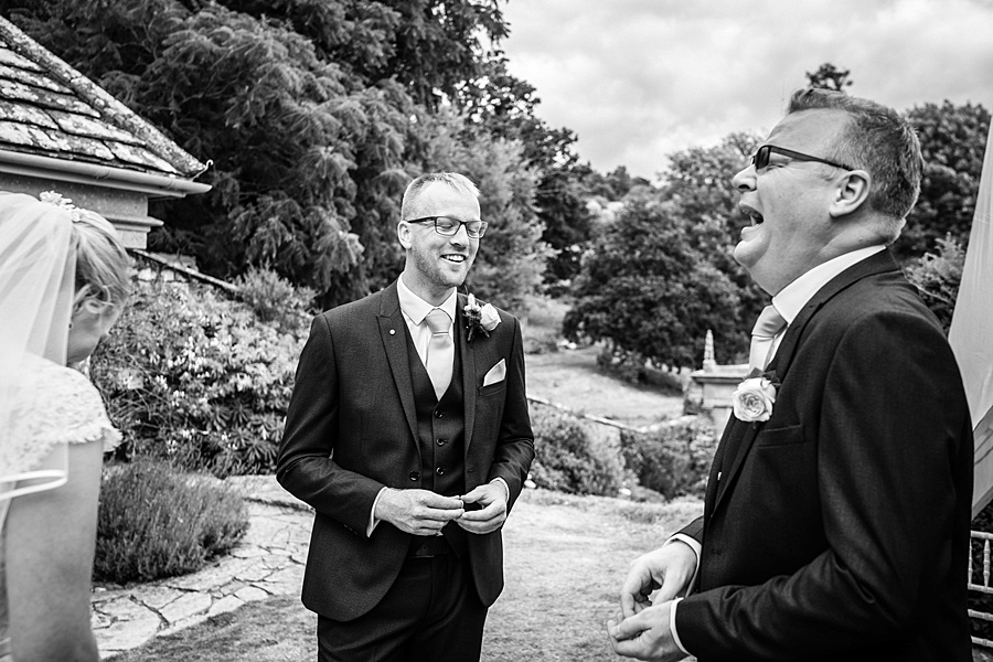 Sarah & Michael's coral and blue Mapperton House wedding, with Linus Moran Photography on the English Wedding Blog (25)