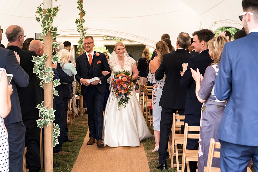 Sarah & Michael's coral and blue Mapperton House wedding, with Linus Moran Photography on the English Wedding Blog (29)