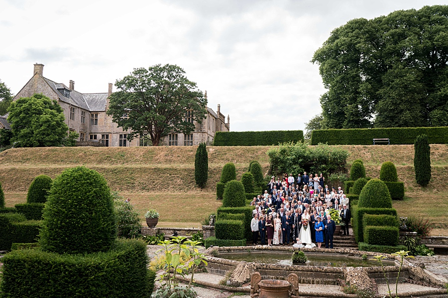 Sarah & Michael's coral and blue Mapperton House wedding, with Linus Moran Photography on the English Wedding Blog (33)