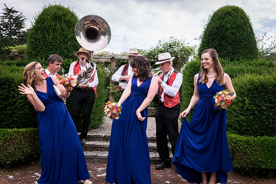 Sarah & Michael's coral and blue Mapperton House wedding, with Linus Moran Photography on the English Wedding Blog (35)