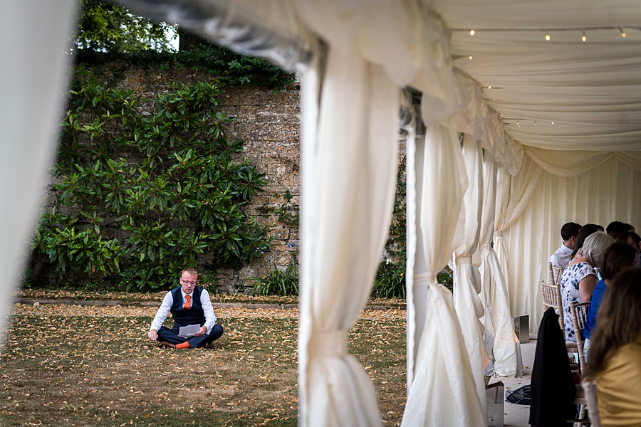 Sarah & Michael's coral and blue Mapperton House wedding, with Linus Moran Photography on the English Wedding Blog (42)