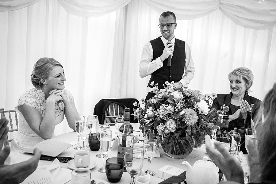 Sarah & Michael's coral and blue Mapperton House wedding, with Linus Moran Photography on the English Wedding Blog (43)