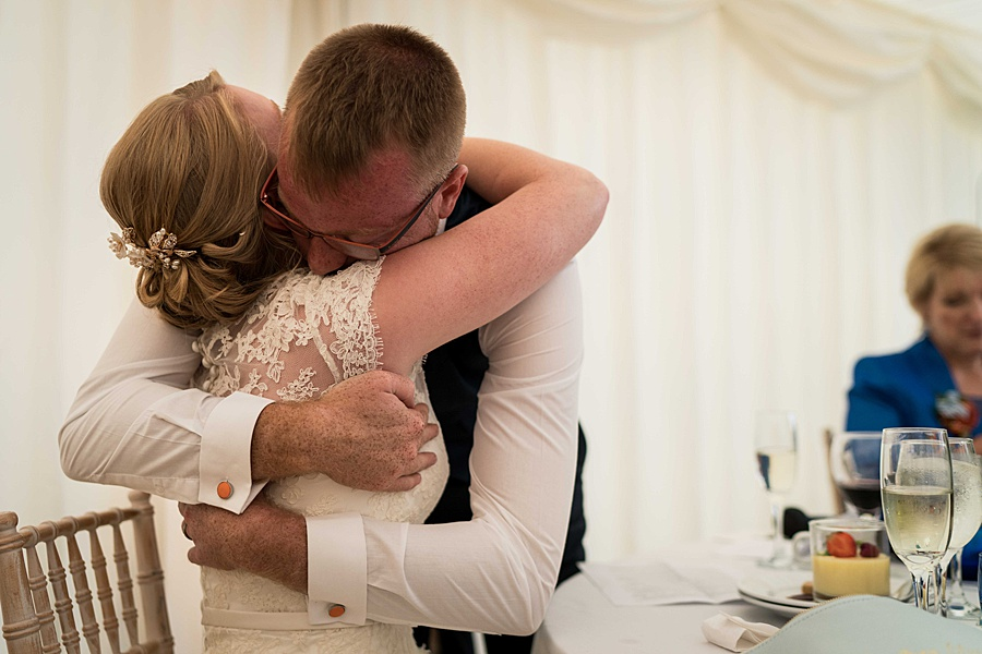 Sarah & Michael's coral and blue Mapperton House wedding, with Linus Moran Photography on the English Wedding Blog (44)