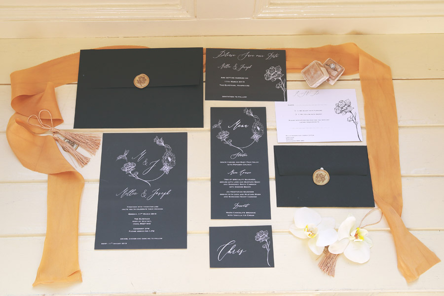 Classic couture wedding styling at the Elvetham, image credit Nicola Rowley Photography (2)