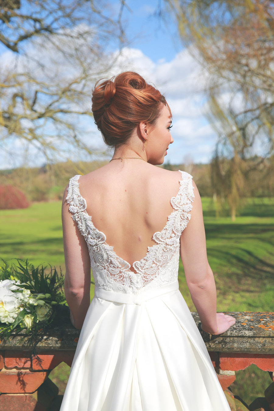 Classic couture wedding styling at the Elvetham, image credit Nicola Rowley Photography (15)