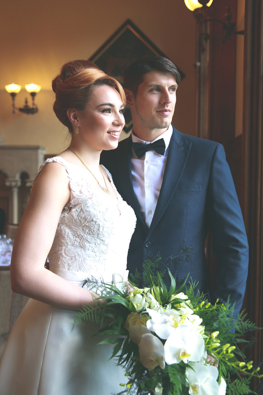 Classic couture wedding styling at the Elvetham, image credit Nicola Rowley Photography (9)