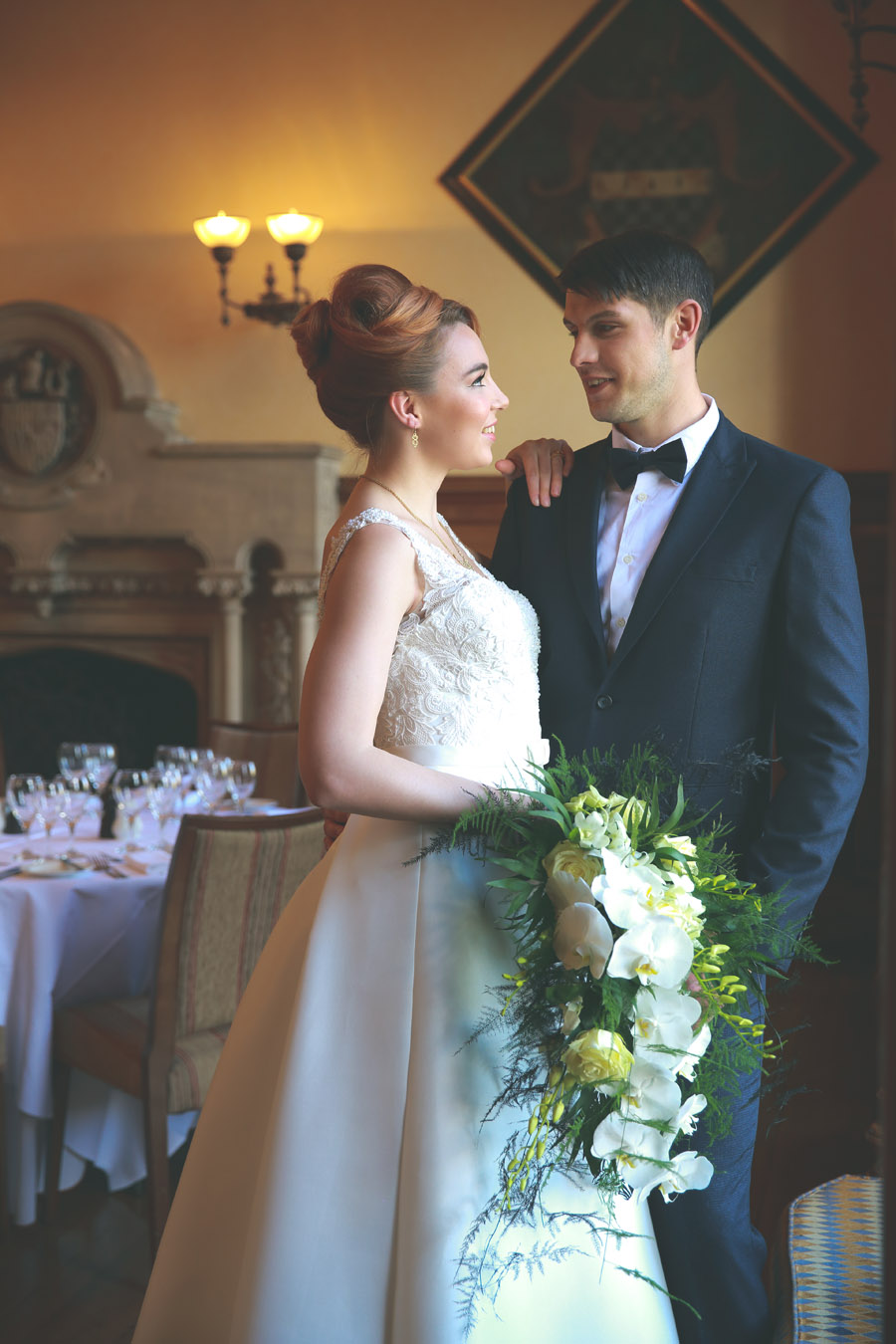 Classic couture wedding styling at the Elvetham, image credit Nicola Rowley Photography (10)