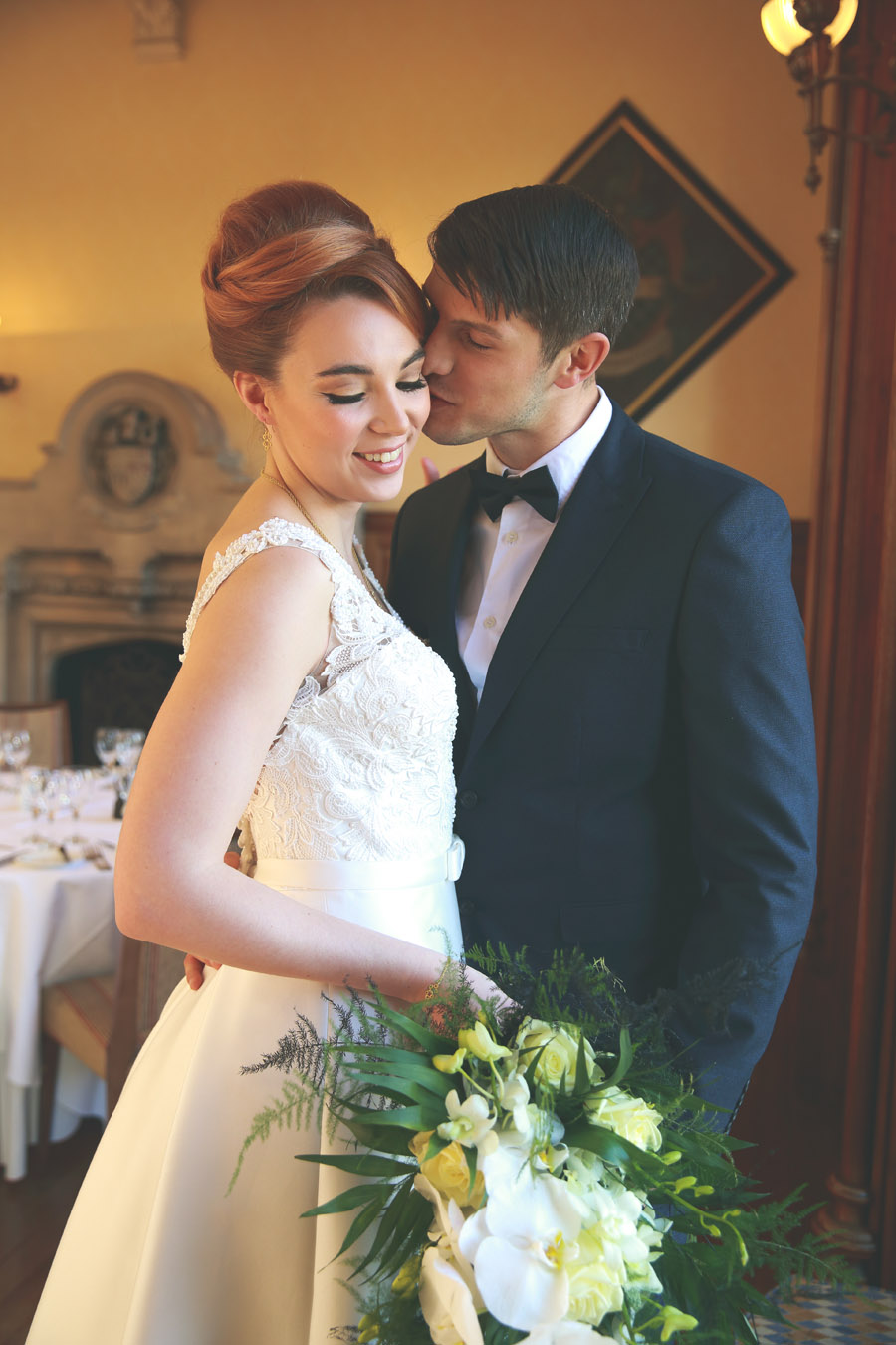 Classic couture wedding styling at the Elvetham, image credit Nicola Rowley Photography (11)