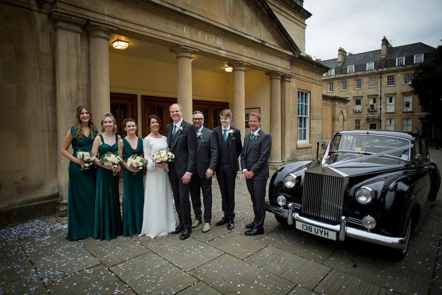 Isabella and Paul at Bath Assembly Rooms with Bristol wedding photographer Martin Dabek Photography (23)