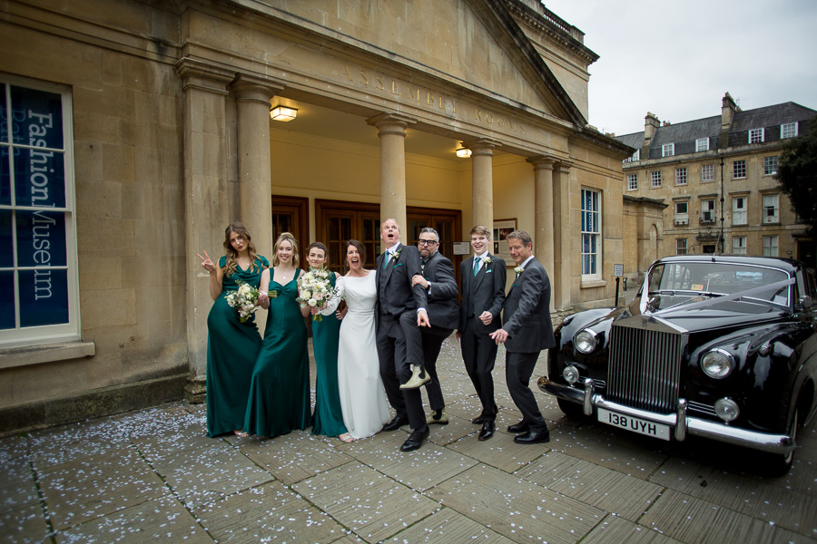 Isabella and Paul at Bath Assembly Rooms with Bristol wedding photographer Martin Dabek Photography (24)