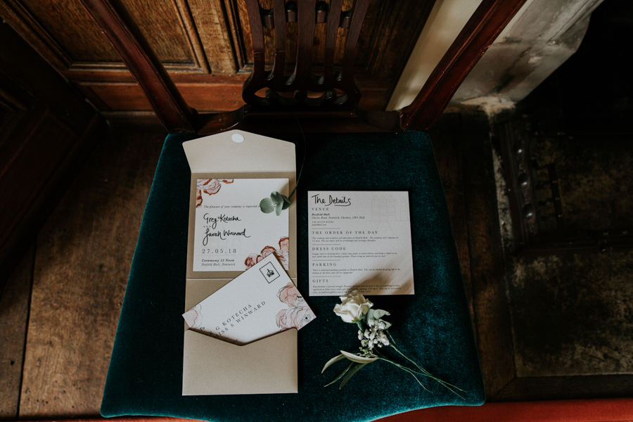 Sarah & Greg's magical Dorfold Hall wedding, photo credit Joasis Photography (16)