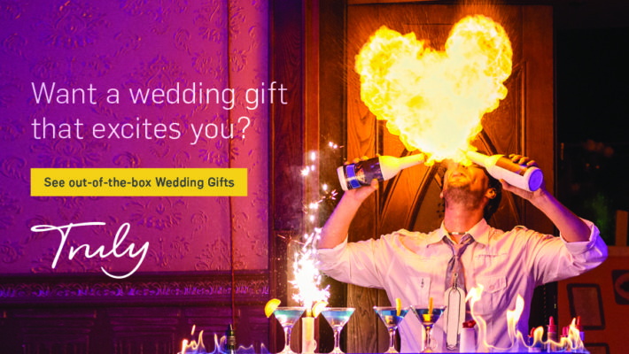 wedding gift ideas from Truly Experiences