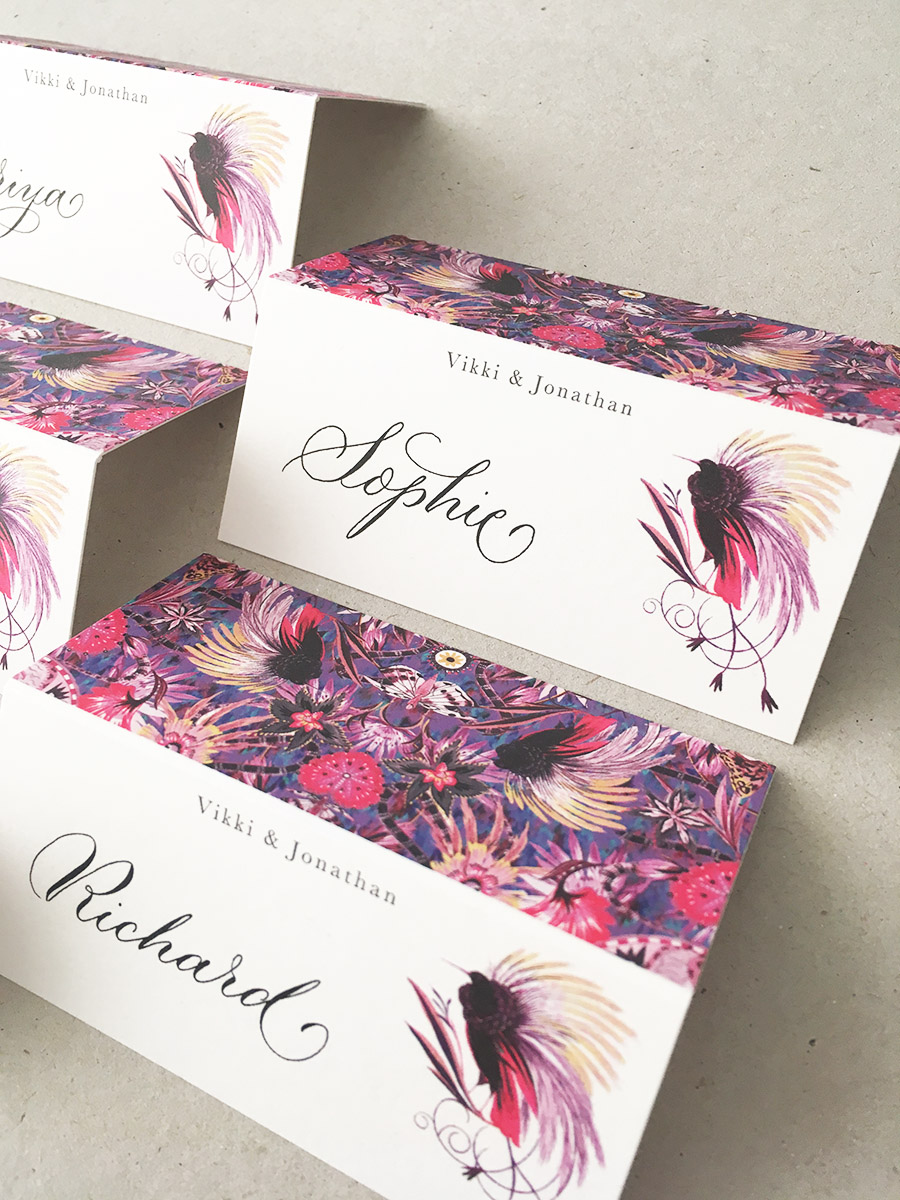 modern calligraphy service UK wedding signage envelope addressing and place names (4)