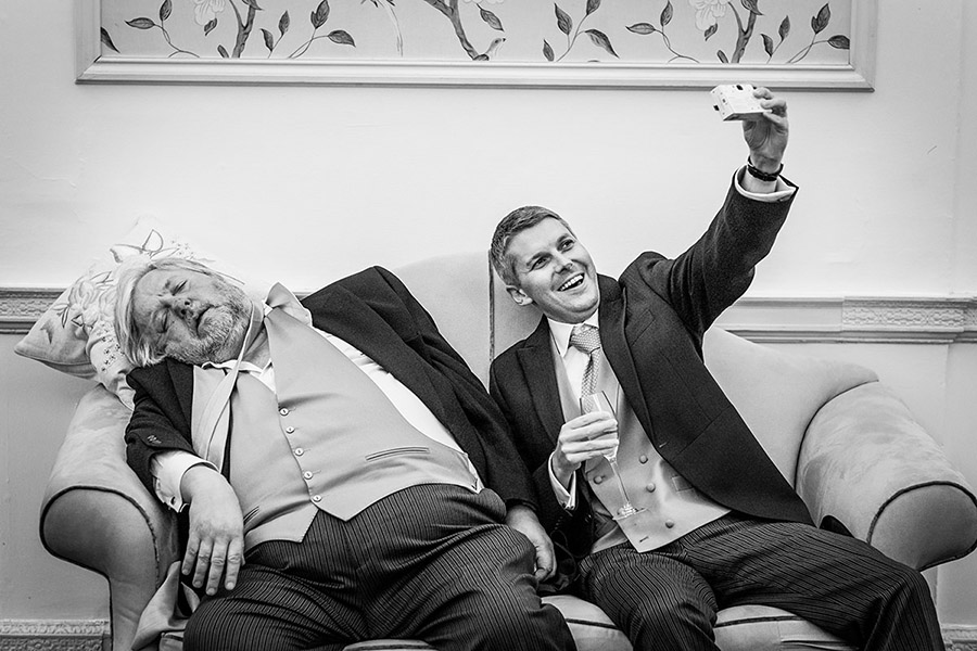 wedding photography with a sense of humour! Photo by (8)
