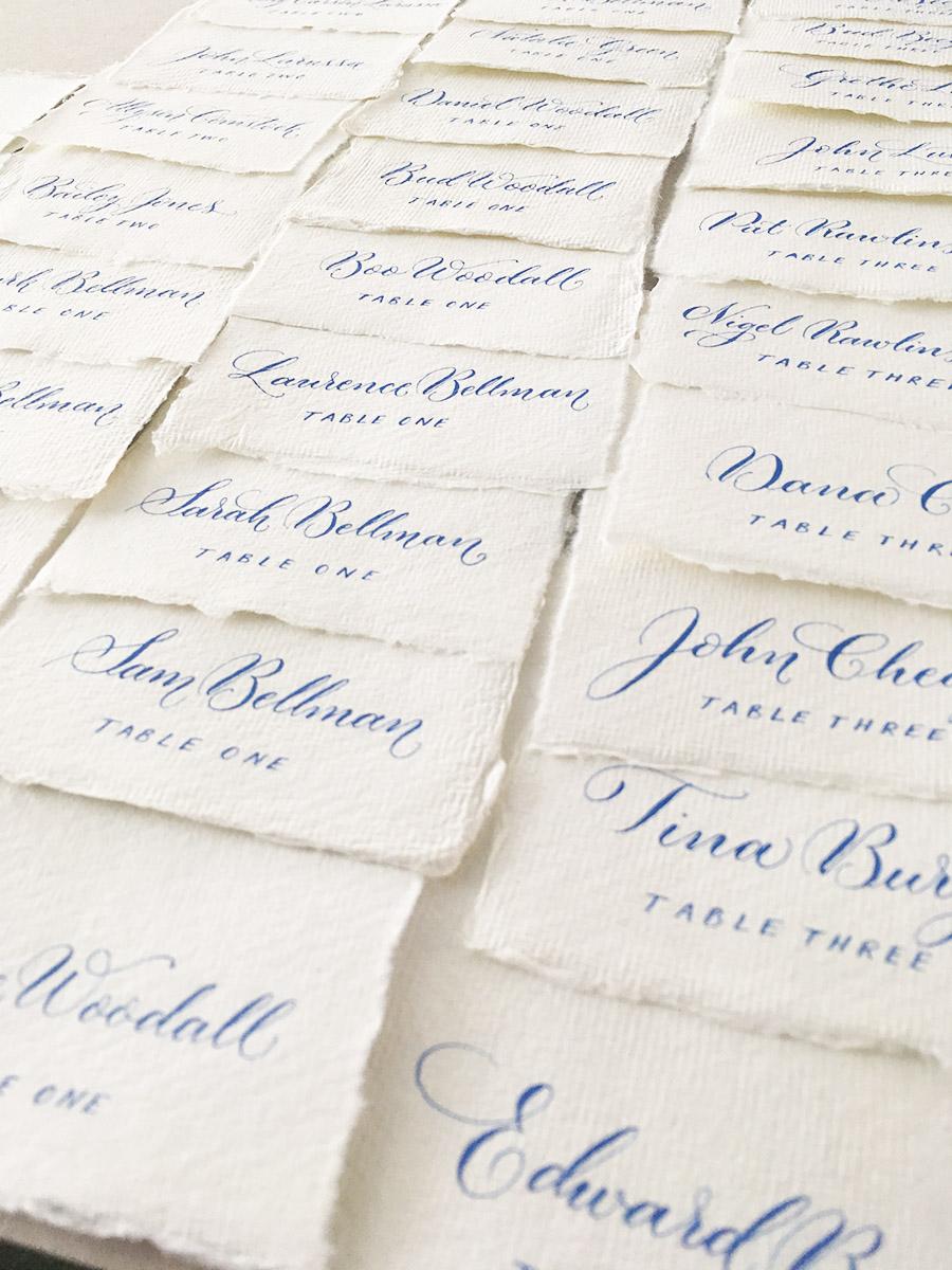 modern calligraphy service UK wedding signage envelope addressing and place names (2)