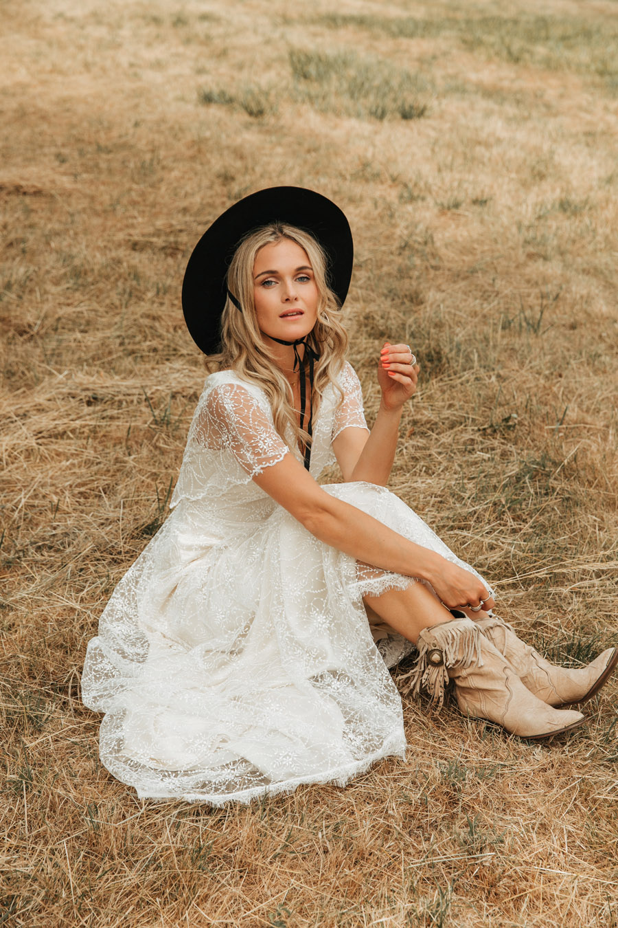 Belle and Bunty cowgirl wedding dress collection 2019 London (13)