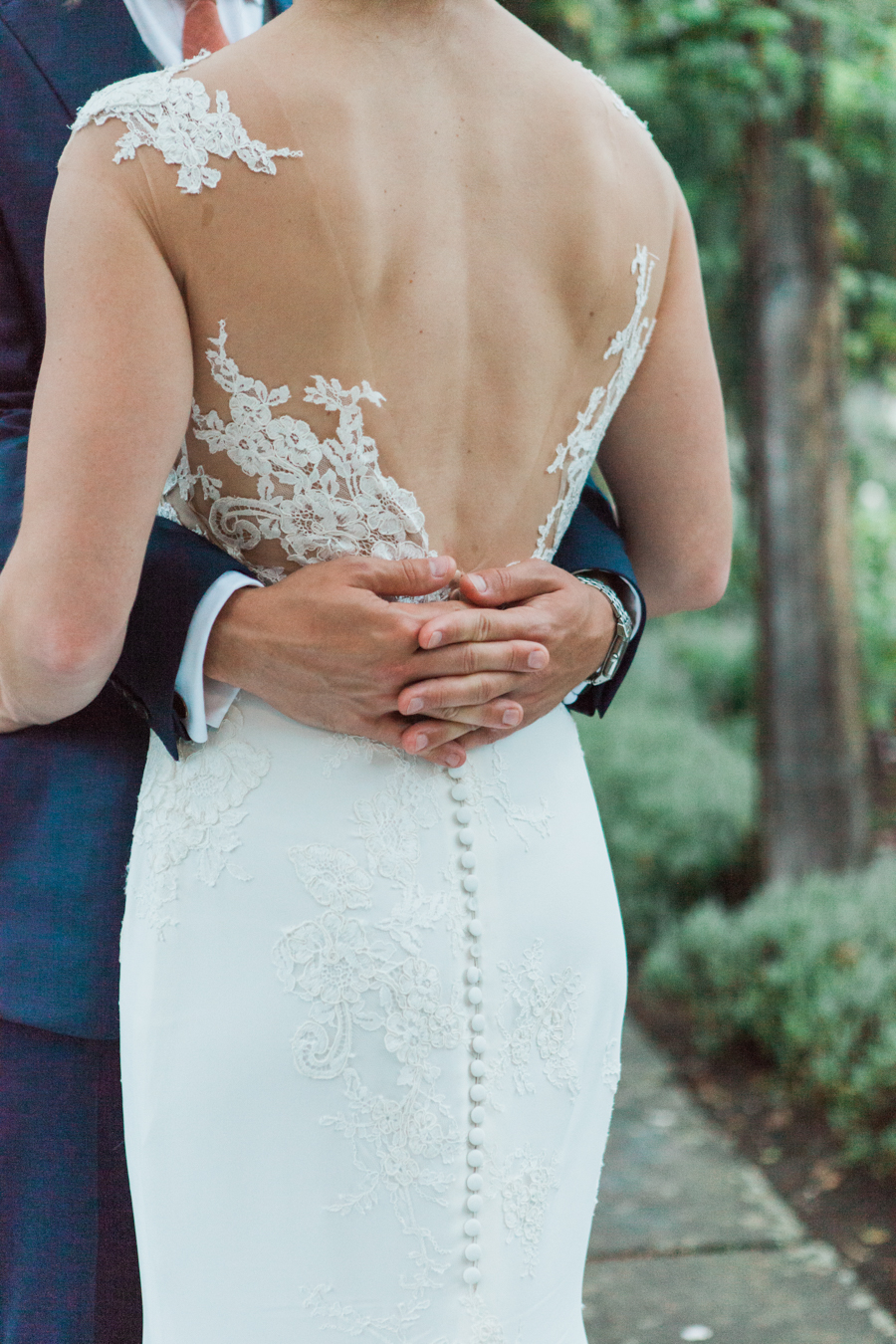 Sunflowers, roses and a beautiful backless wedding dress for this gorgeous Great Fosters wedding. Images by Amanda Karen Photography (28)
