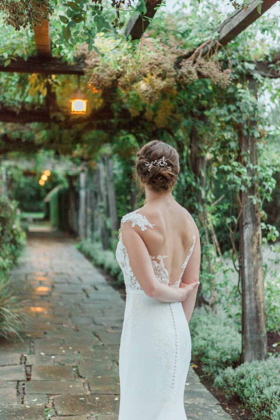 Sunflowers, roses and a beautiful backless wedding dress for this gorgeous Great Fosters wedding. Images by Amanda Karen Photography (29)