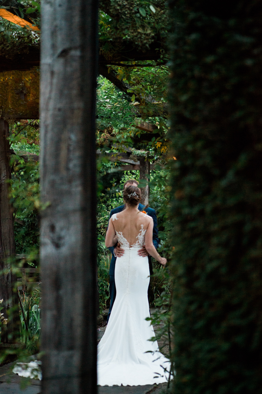 Sunflowers, roses and a beautiful backless wedding dress for this gorgeous Great Fosters wedding. Images by Amanda Karen Photography (31)