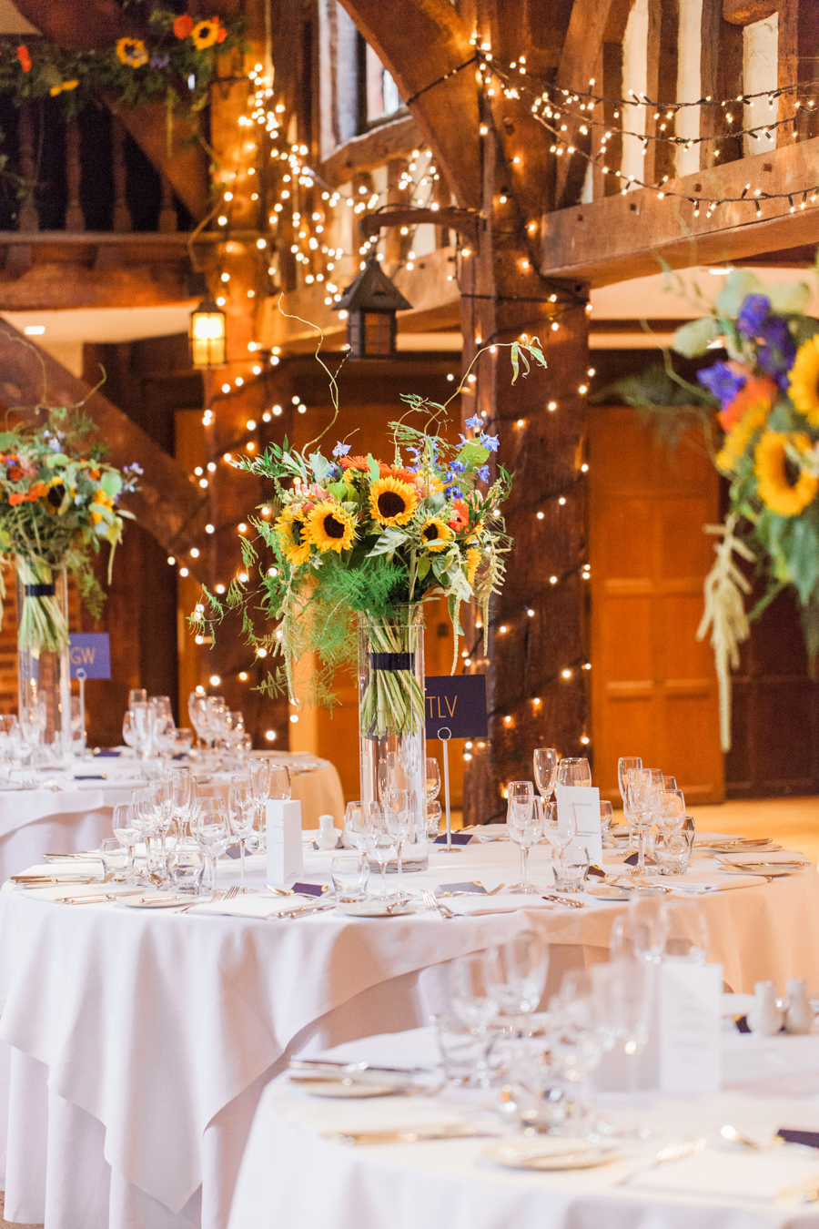 Sunflowers, roses and a beautiful backless wedding dress for this gorgeous Great Fosters wedding. Images by Amanda Karen Photography (38)