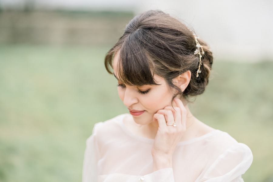 Spring blossom wedding style inspiration and ideas with Chloe Ely Photography at Barton Court (9)