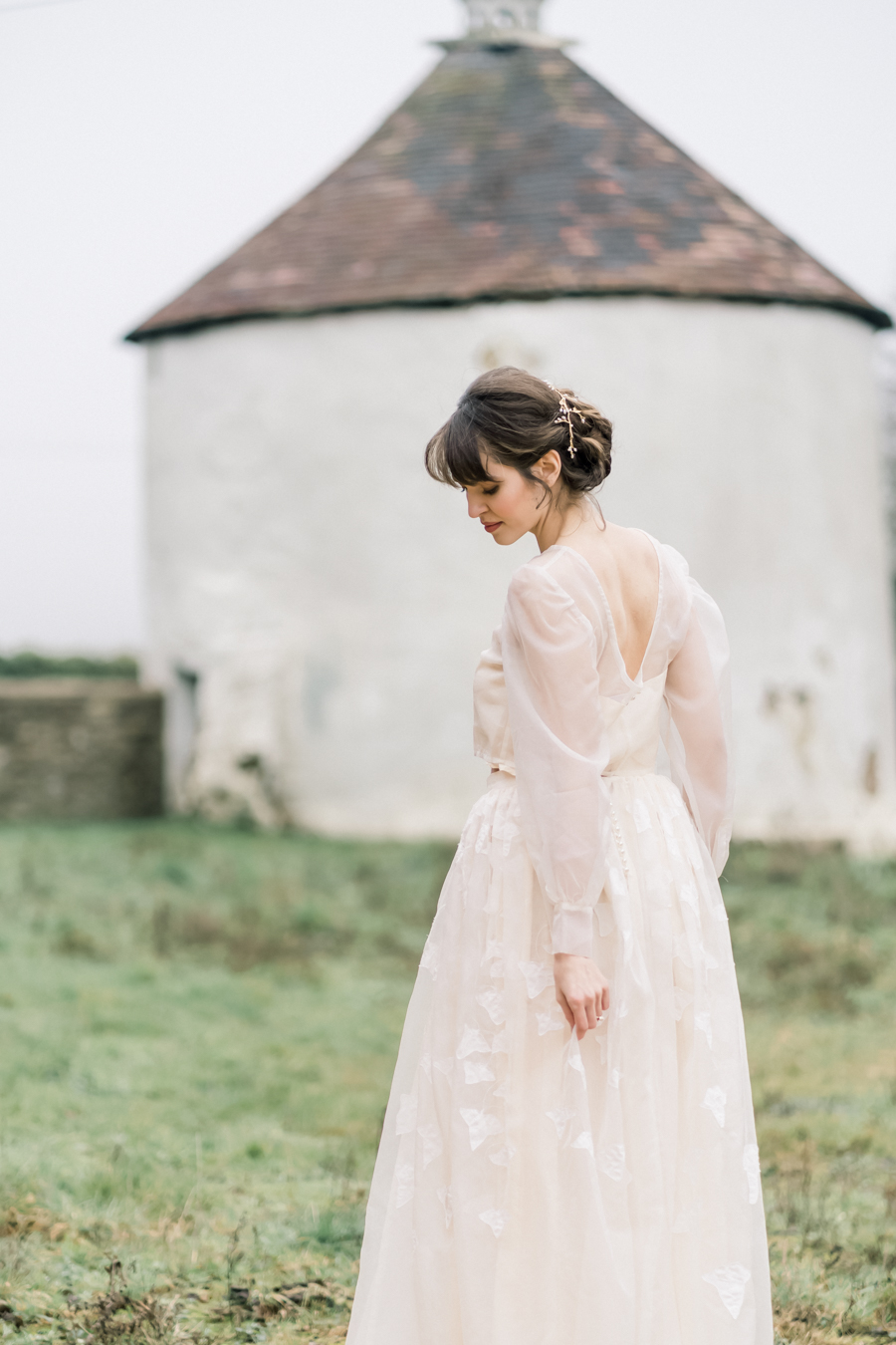 Spring blossom wedding style inspiration and ideas with Chloe Ely Photography at Barton Court (12)