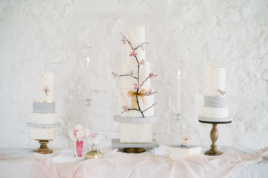 Spring blossom wedding style inspiration and ideas with Chloe Ely Photography at Barton Court (2)