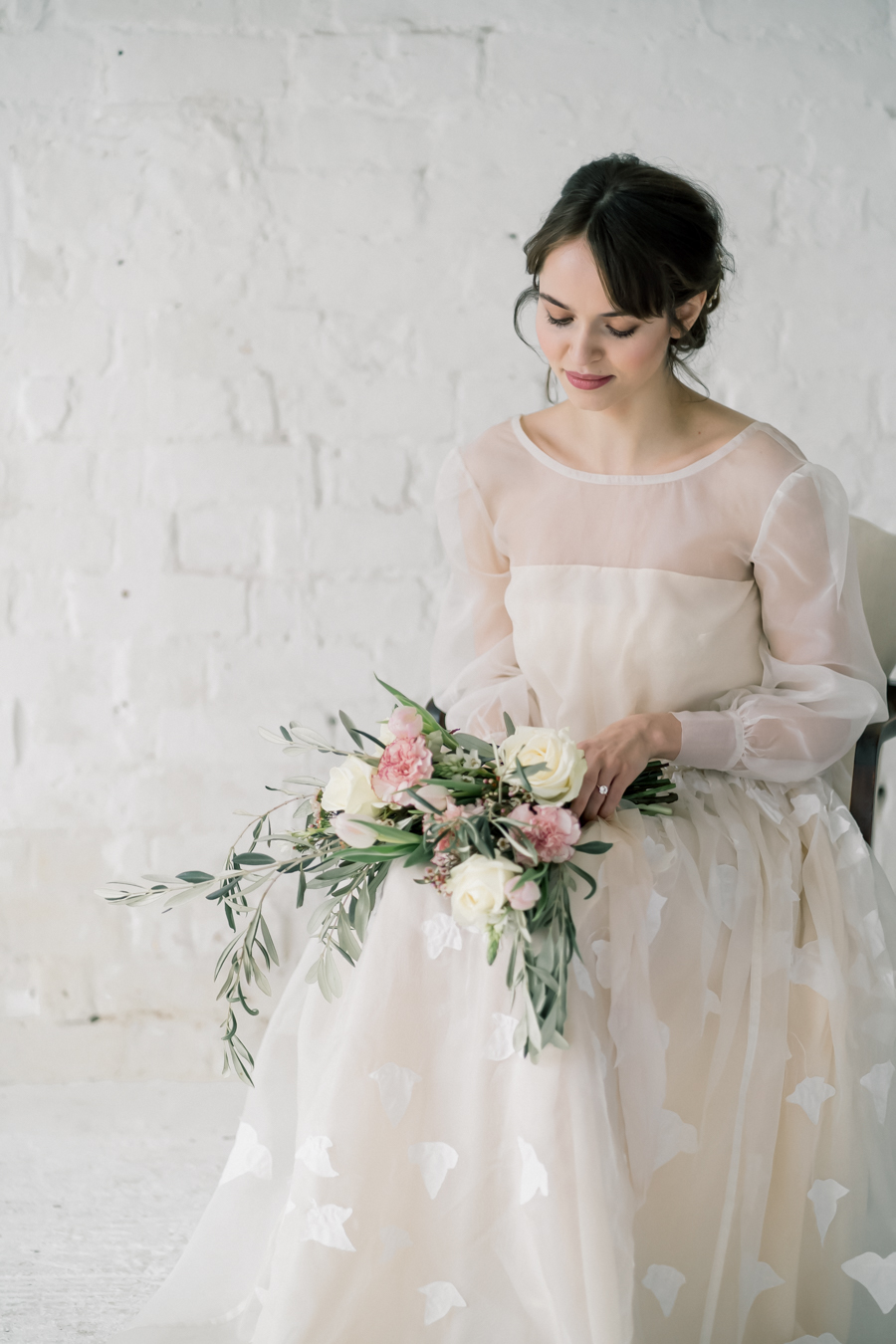 Spring blossom wedding style inspiration and ideas with Chloe Ely Photography at Barton Court (23)