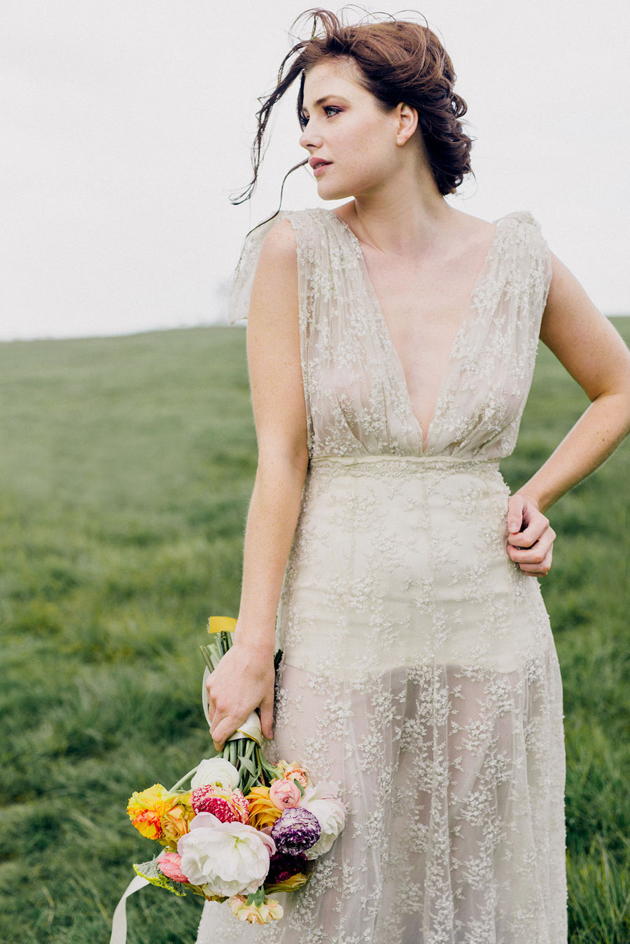 relaxed boho bridal style fashion shoot in London with Sussie Mellstedt (17)