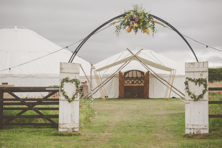 Liz & Andrew's Shropshire yurt wedding, photo credit Cara Green, The Little Paper Shop (1)