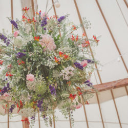 Liz and Andrew's beautiful wildflower wedding in Shropshire, with photography by Cara Green