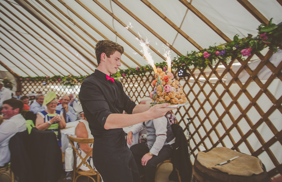 Liz & Andrew's Shropshire yurt wedding, photo credit Cara Green, The Little Paper Shop (33)