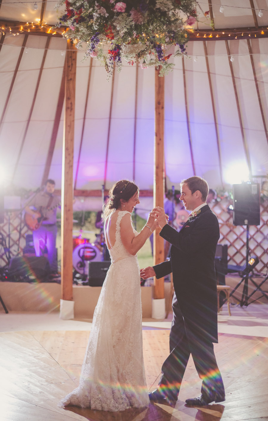 Liz & Andrew's Shropshire yurt wedding, photo credit Cara Green, The Little Paper Shop (36)