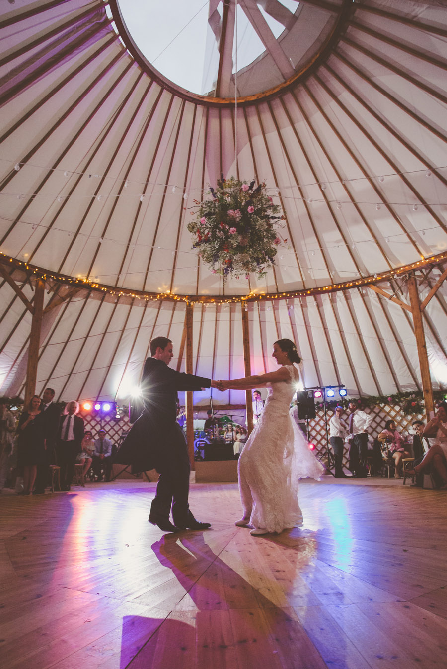 Liz & Andrew's Shropshire yurt wedding, photo credit Cara Green, The Little Paper Shop (37)