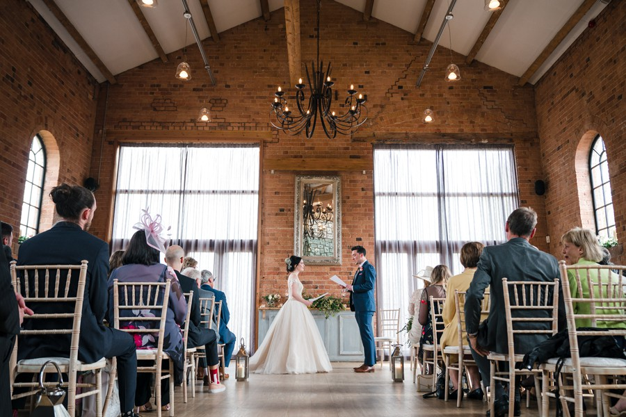 Stephanie and Peter's incredibly beautiful Carriage Hall wedding, photo credit Martin Cheung (1)
