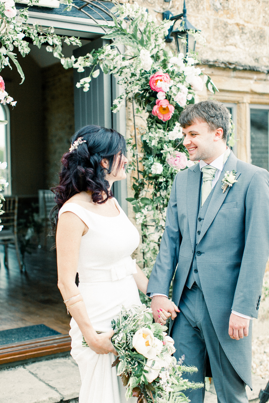 Jordans Courtyard rustic wedding styling ideas with images by Liz Baker Photography (21)