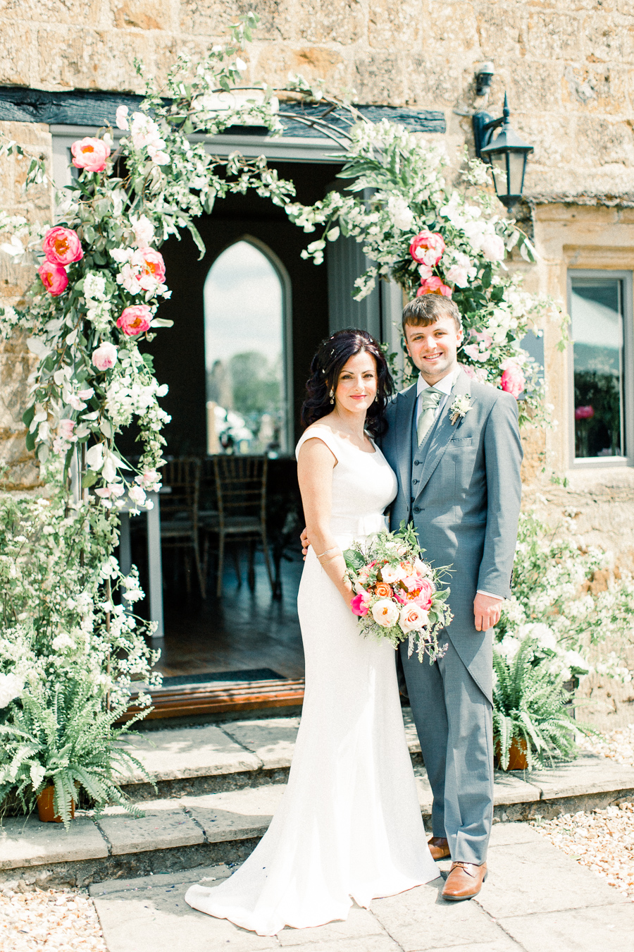 Jordans Courtyard rustic wedding styling ideas with images by Liz Baker Photography (27)