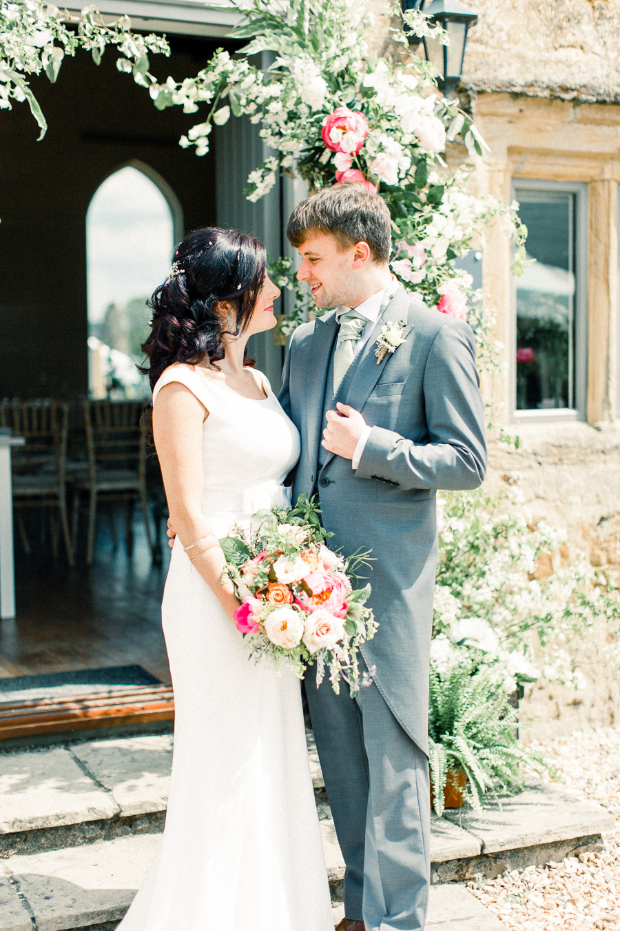 Jordans Courtyard rustic wedding styling ideas with images by Liz Baker Photography (28)