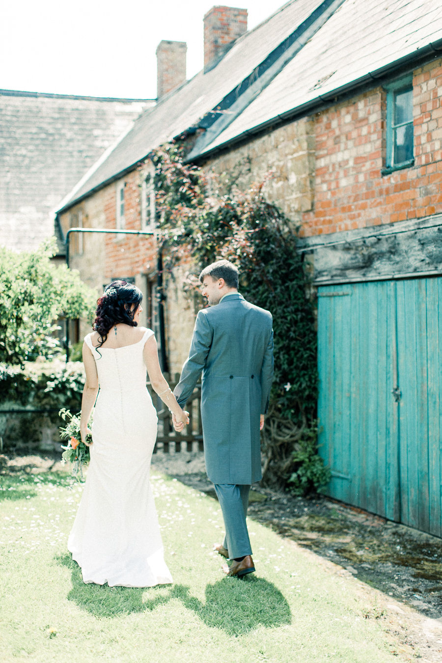 Jordans Courtyard rustic wedding styling ideas with images by Liz Baker Photography (32)