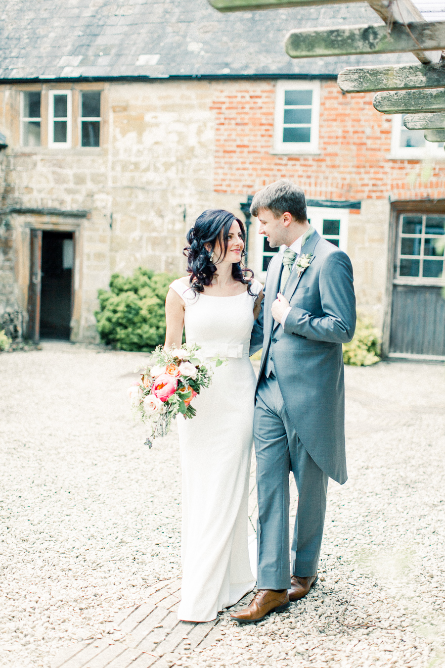 Jordans Courtyard rustic wedding styling ideas with images by Liz Baker Photography (34)
