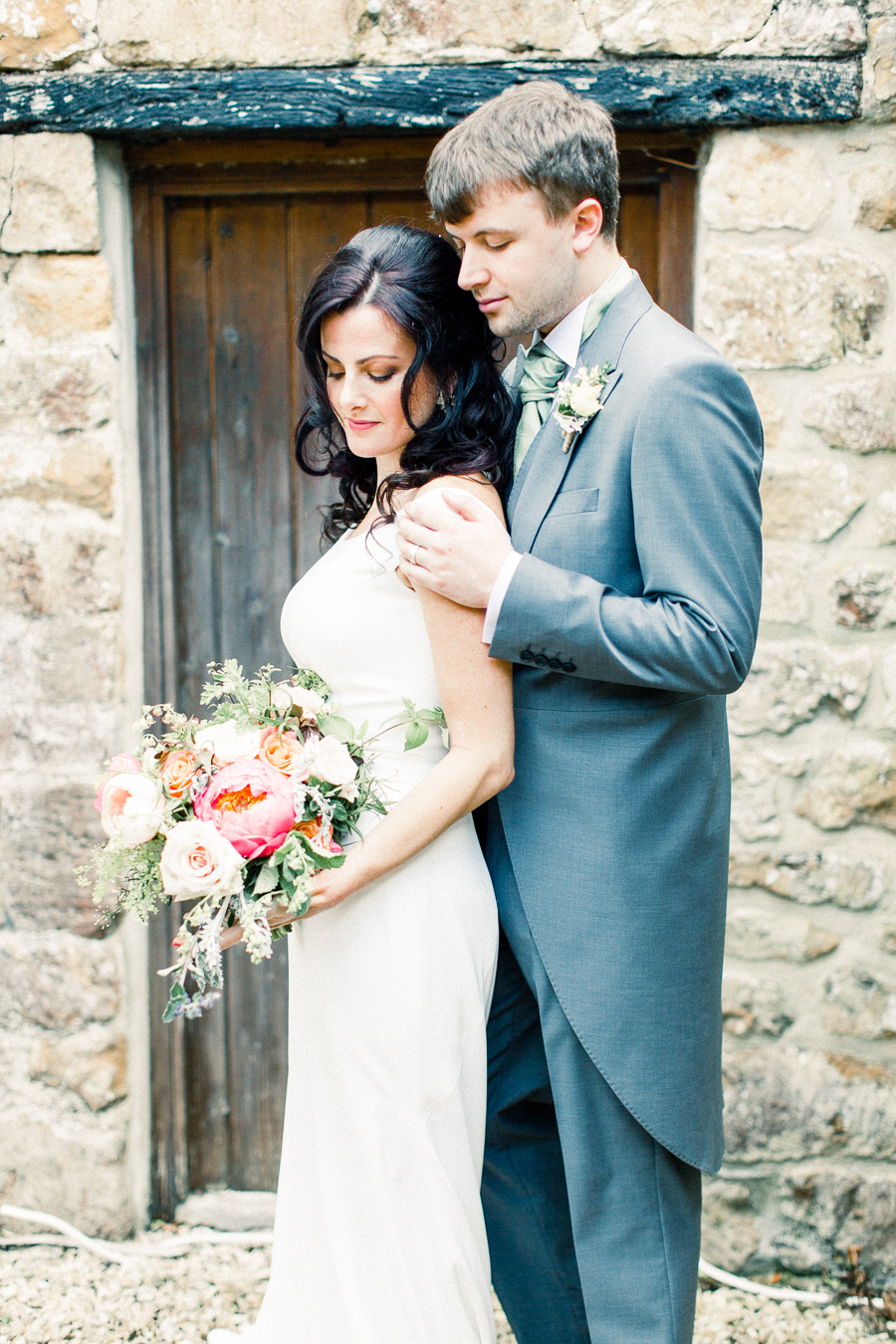 Jordans Courtyard rustic wedding styling ideas with images by Liz Baker Photography (38)